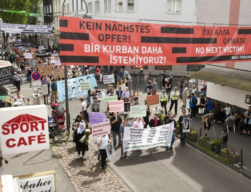 Statement zum Mordfall Lübcke vom Tribunal NSU-Komplex auflösen