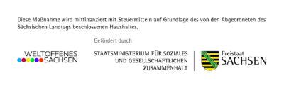 Logo des Landesprogramm Weltoffenes Sachsen